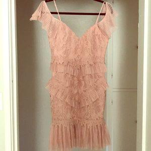 Bardot dress size M Dusty Pink Valorie